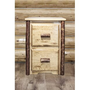 Loon Peak Tustin 2-Drawer File Cabinet