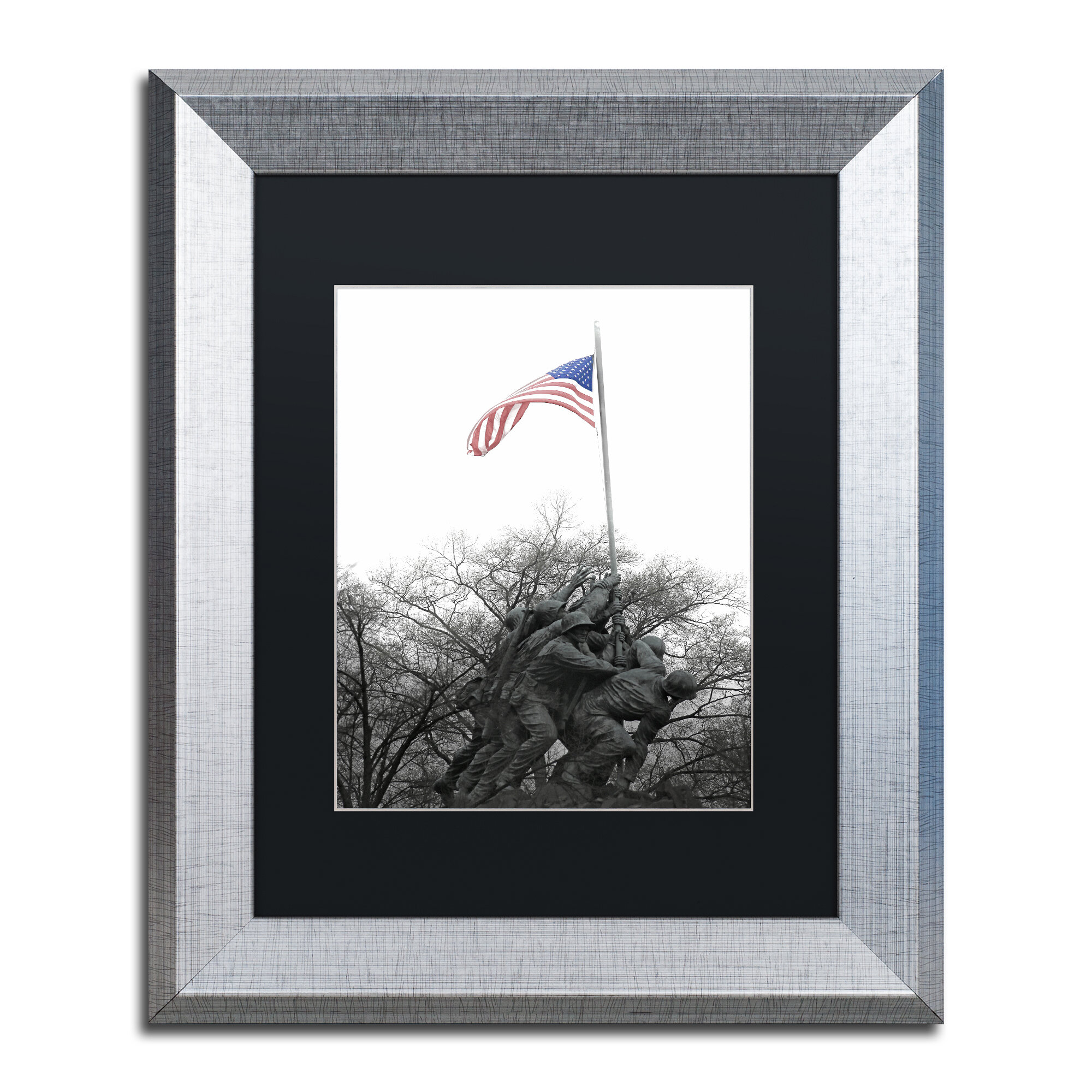 Trademark Art Courage By Cateyes Framed Photographic Print Wayfair