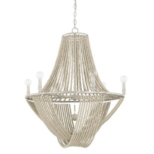 Manervia 6-Light Empire Chandelier by Bungalow Rose
