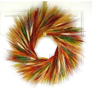 Sunset Wheat Wreath