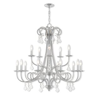 Willa Arlo Interiors Devan 15-Light Chand..