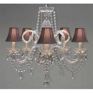 House of Hampton Meredith 6-Light Shaded Chandelier