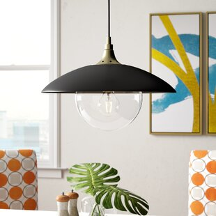 Deveraux 1-Light Dome Pendant