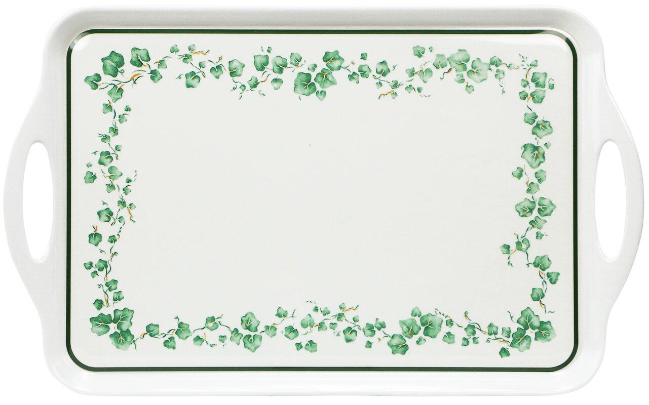 corelle impressions callaway melamine rectangular serving platter