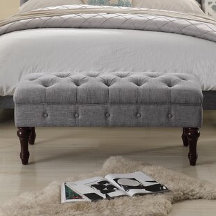 Ophelia & Co. Suellen Tufted Upholstered Bedroom Bench