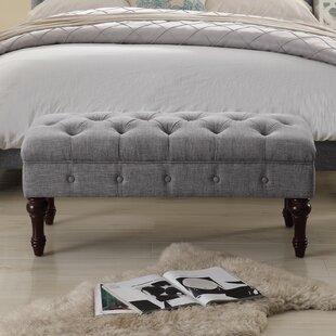 Ophelia & Co. Suellen Tufted Upholstered Bedroom Bench