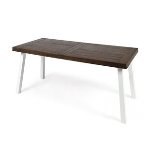 Dyer Avenue Outdoor Acacia Wood Dining Table