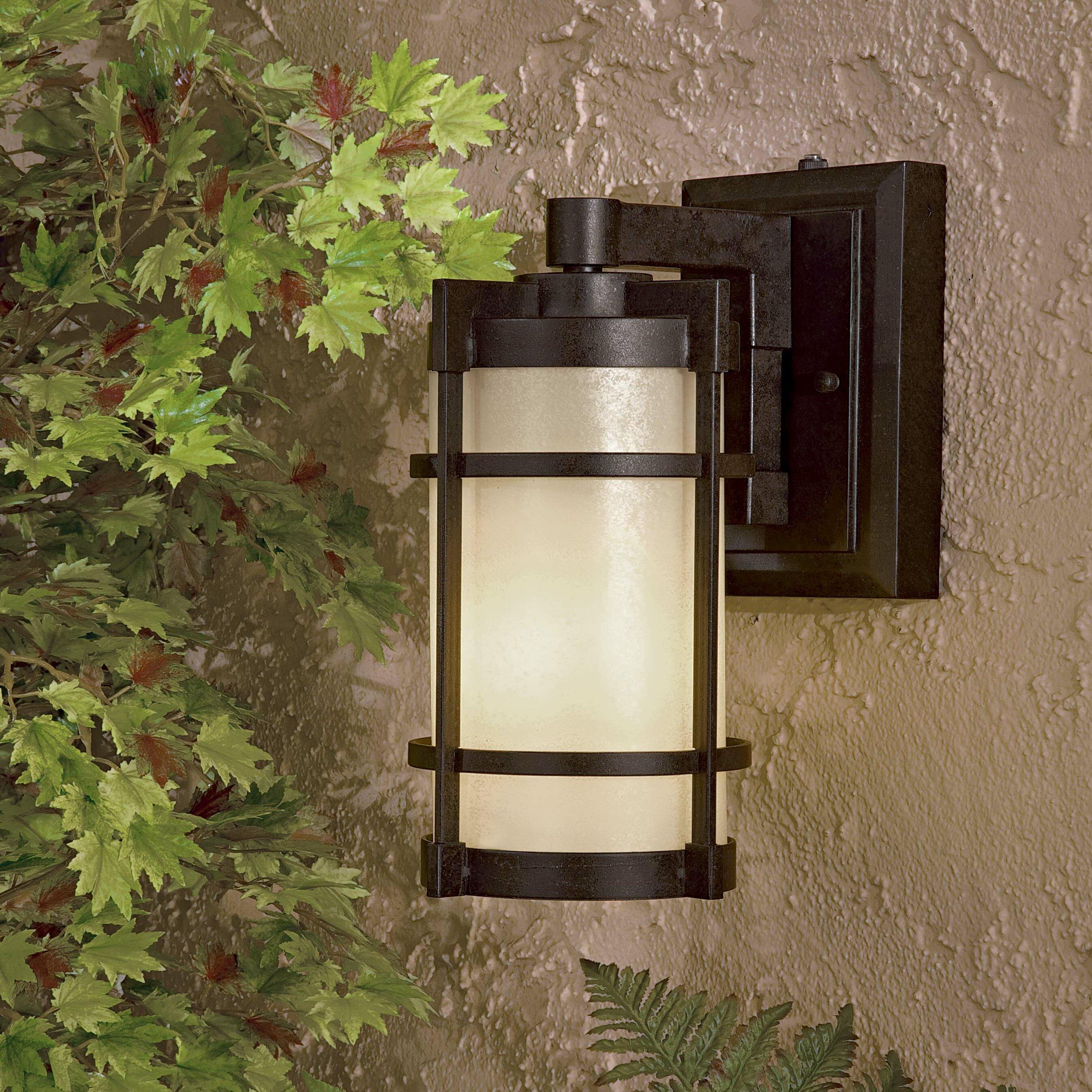 Great outdoors by minka wayfair andrita court 1 light outdoor wall lantern workwithnaturefo