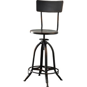 Fontenay Adjustable Height Swivel Bar Stool by Trent Austin Design