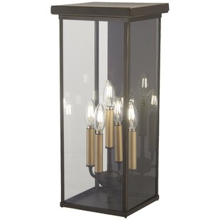 Maultsby 5-Light Outdoor Flush Mount by Gracie Oaks