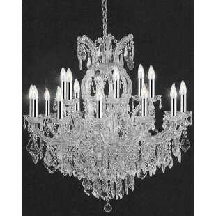 House of Hampton Keenum 16-Light Candle Style Chandelier