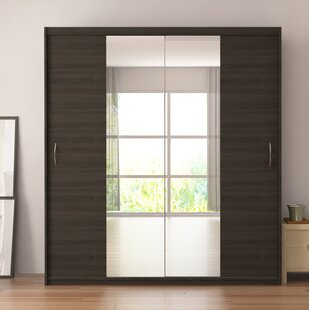 Zanders Armoire With Mirror Sliding Doors