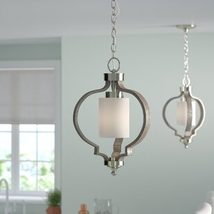 Lark Manor Burnley 1-Light Geometric Pendant