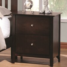 Crimmins 2 Drawer Nightstand by Darby Home Co