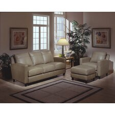 Skyline 3 Seat Leather Sofa Set by Omnia Leather