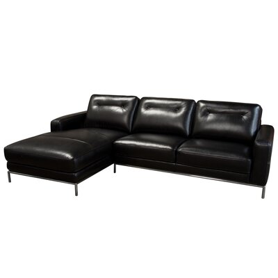 Diamond Sofa Sable Sectional Orientation: Left Hand Facing