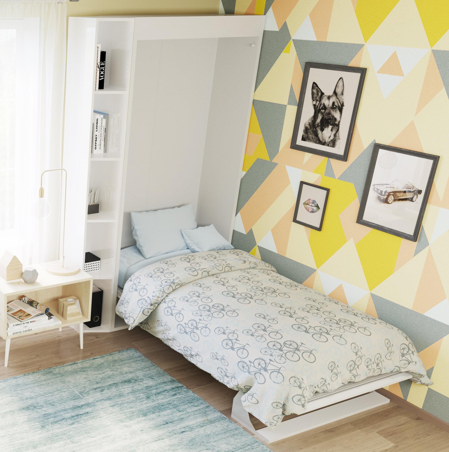 Picture of: Brayden Studio Gautreau Twin Murphy Bed Wayfair