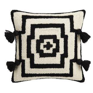 Justina Blakeney Hypnotic Pom Pom Hook Throw Pillow