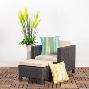 Squires Outdoor Patio Chair with Cushions
