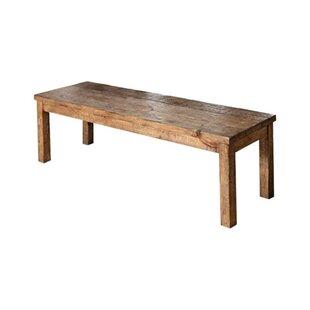 Glenn Old Style Wood Bench