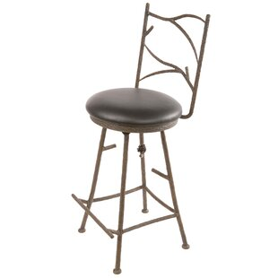 Where buy  Trawick 25 Swivel Bar Stool by Millwood Pines Reviews (2019) & Buyer's Guide