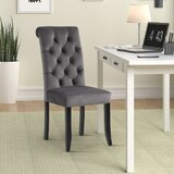 Emlenton Tufted Upholstered Dining Chair (Set of 2) by Winston Porter