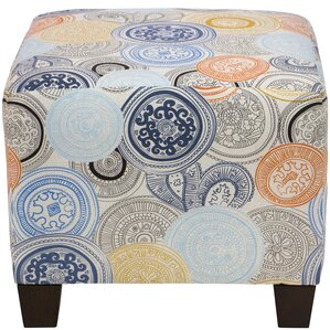 Guillermo Square Ottoman by Latitude Run