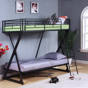 Jerold Twin Over Twin Bunk Bed by Harriet Bee