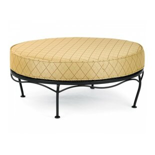 Fullerton Universal Oval Ottoman with Cushion By Woodard