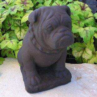Nichols Bros. Stoneworks Bulldog Statue