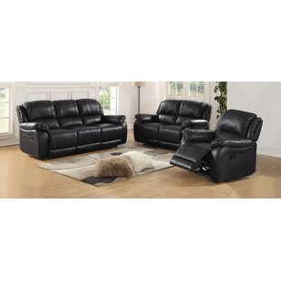 Juan Reclining Configurable Living Room Set by Latitude Run