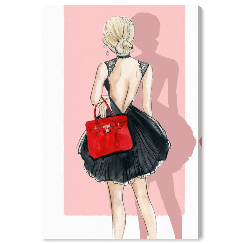 Oliver Gal Fashion Show Party Wrapped Canvas Graphic Art Print On Canvas Reviews Wayfair