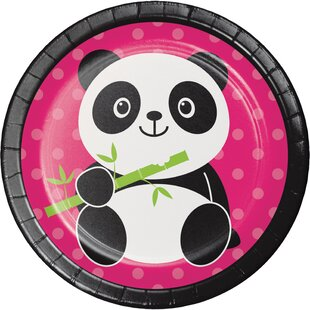 Panda Appetizer Plate (Set of 24)