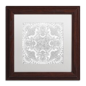 'Christmas Angels' by Hello Angel Framed Graphic Art