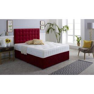 Coilsprung And Memory Foam Divan Bed By 17 Stories