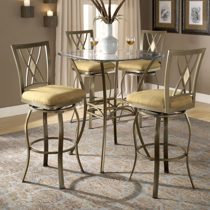 Darby Home Co Dallas Bar Height Bistro Table Set & Reviews | Wayfair