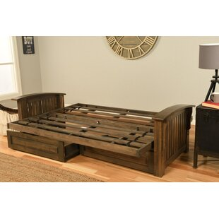 Clinchport Futon Frame and Storage Drawers by Harriet Bee
