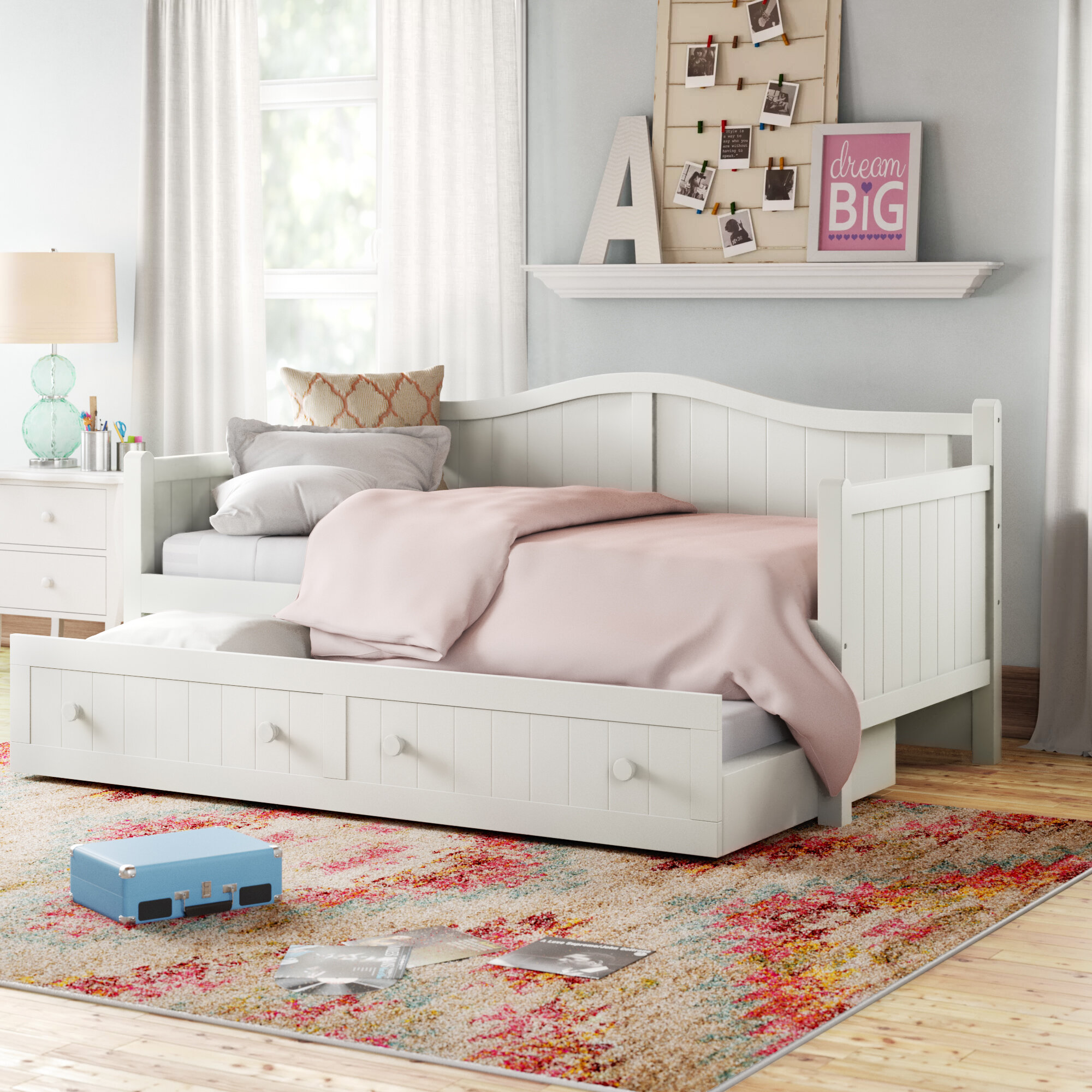 - Twin Daybed With Trundle & Reviews Birch Lane