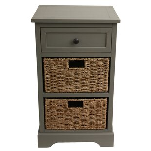 Beachcrest Home Ardina 3 Drawer Storage Chest