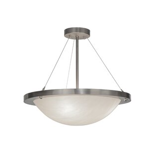 Meyda Tiffany Catalina 4-Light Semi Flush Mount