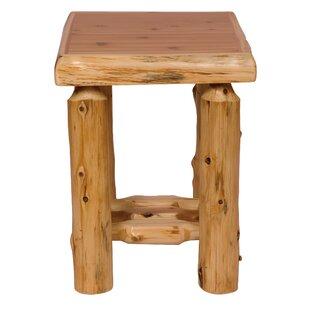 Cedar Nightstand by Fireside Lodge