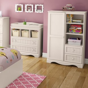 Savannah 2 Drawer Combo Dresser by South Shore