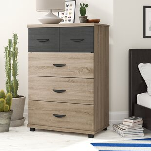Valle 5 Drawer Chest Of Drawers By 17 Stories