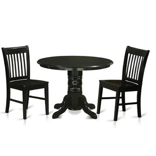 Sherlock 3 Piece Breakfast Nook Dining Set August Grove