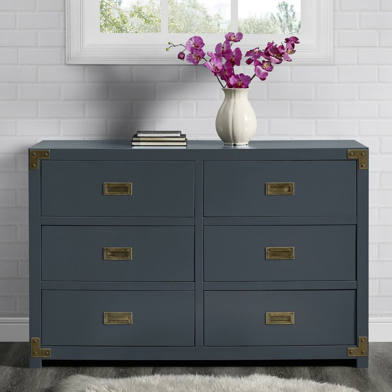 Sumitra 6 Drawer Double Dresser