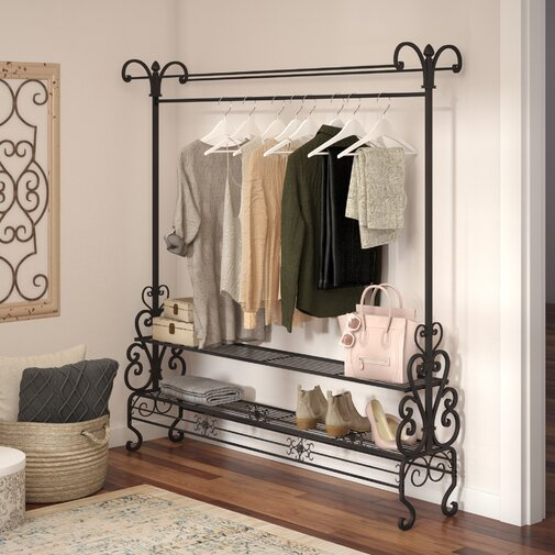 40.25 in. W Mouron Garment Rack