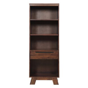 Barb Wooden 4 Open Shelf TV Stand