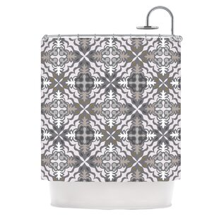 Let In Snow Single Shower Curtain