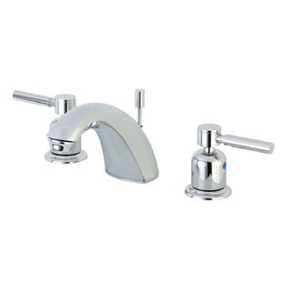 Kingston Brass Concord Widespread faucet Bathroom Faucet with Drain Assembly Image