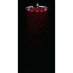 Round Rain 1.8 GPM Shower Head